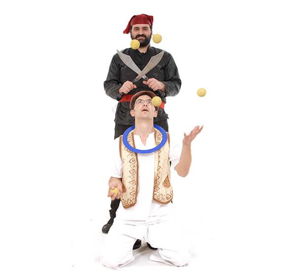 תיאטרון מופאש עמי חניא ויהודה רודרמן