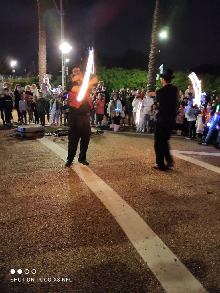 מופאש - מופע אש ולהטוטים יום העצמאות